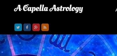 A Capella Astrology